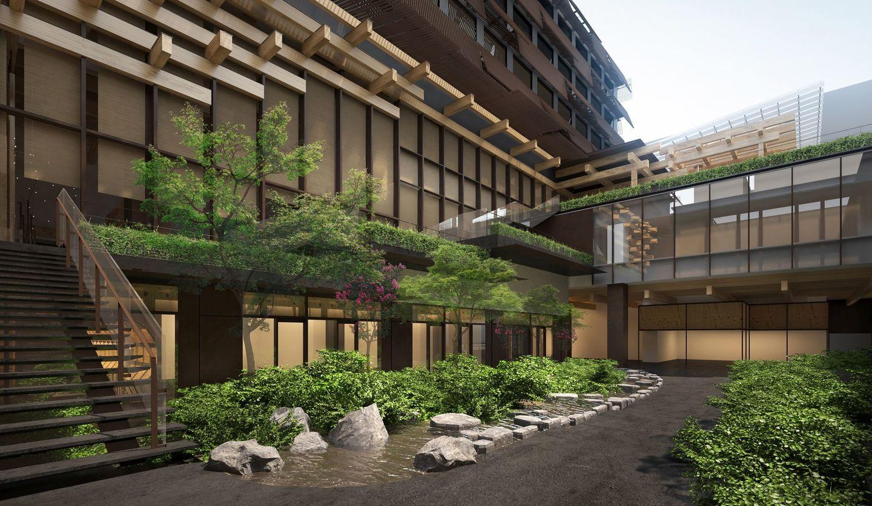 エースホテル京都の外観