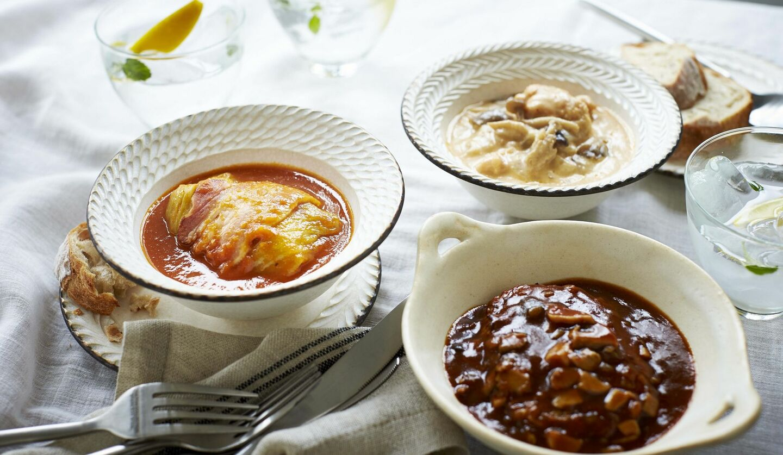 三越伊勢丹「3種類の煮込み料理セット」
