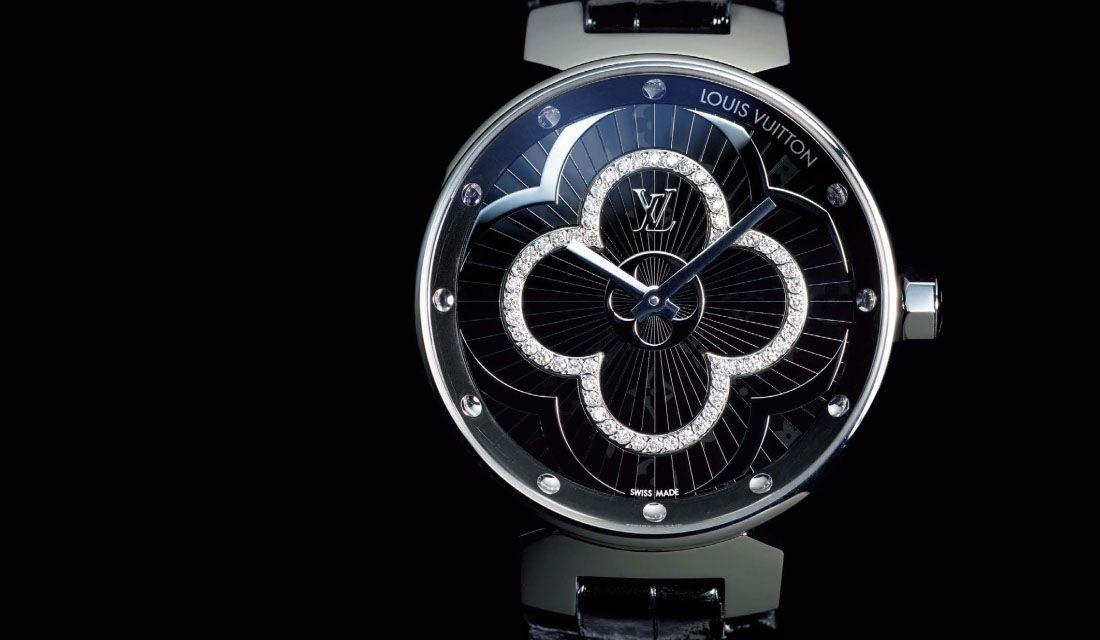 ルイ・ヴィトンの時計『タンブール ムーンディヴァイン ディアモン』