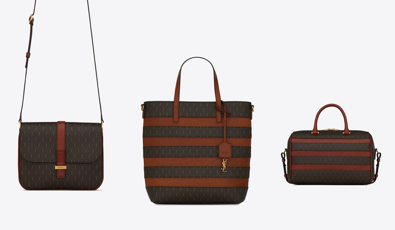 サンローランの新作バッグ「ル・モノグラム」
