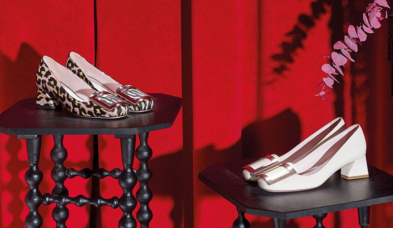 ROGER VIVIER(ロジェ ヴィヴィエ)の新作靴「トレ ヴィヴィエ」の写真