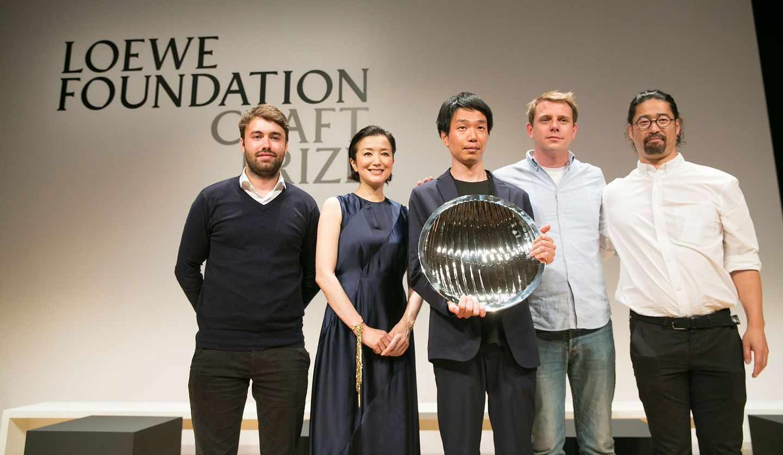 東京・草月会館で行われた「ロエベ クラフト プライズ2019」授賞式の様子