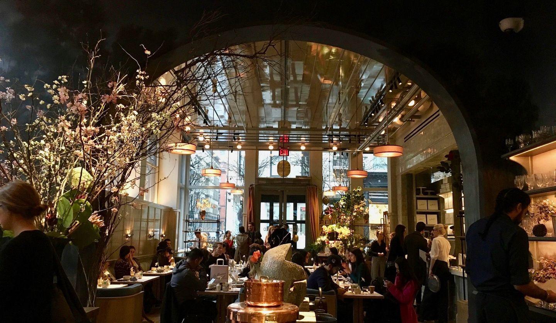 コロナ前のニューヨークのレストラン