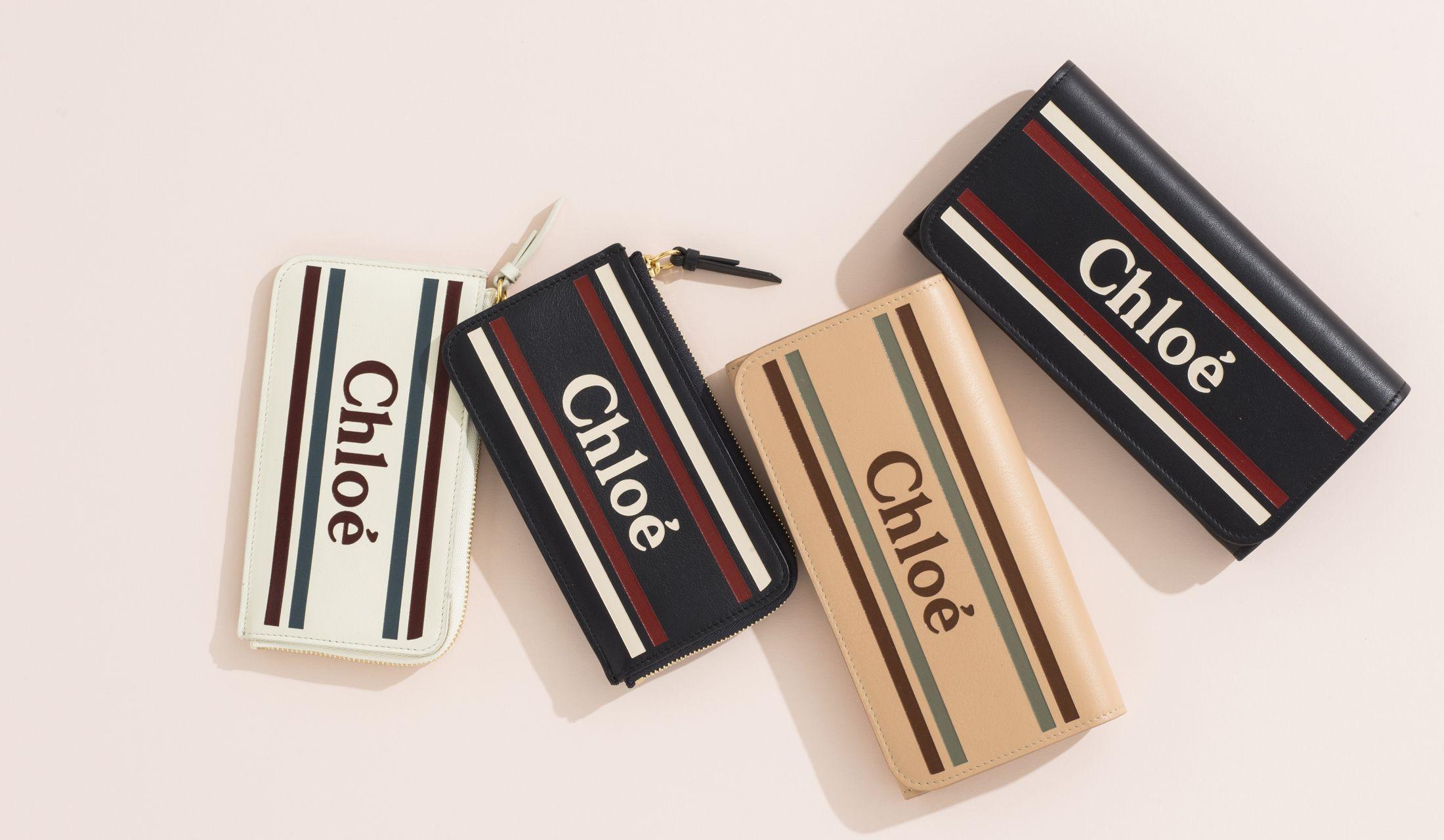Chloé(クロエ)の新作財布の画像