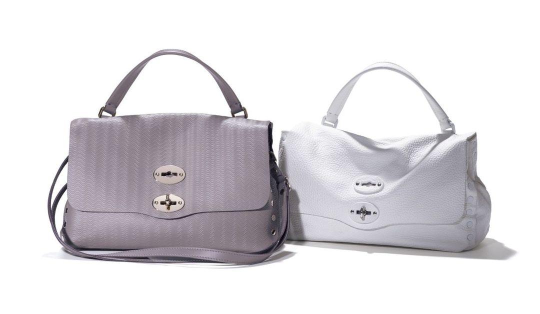 ザネラートのバッグ「ポスティーナ S カシミアブランディーン」と「ポスティーナ S プーラ」