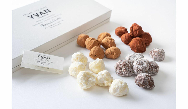 イヴァン・ヴァレンティンのチョコレートトリュフ