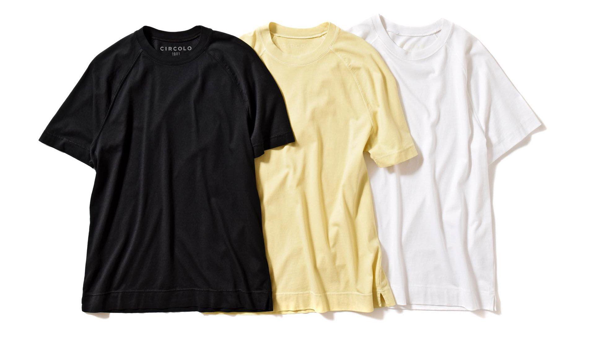 チルコロ1901のコットンTシャツ