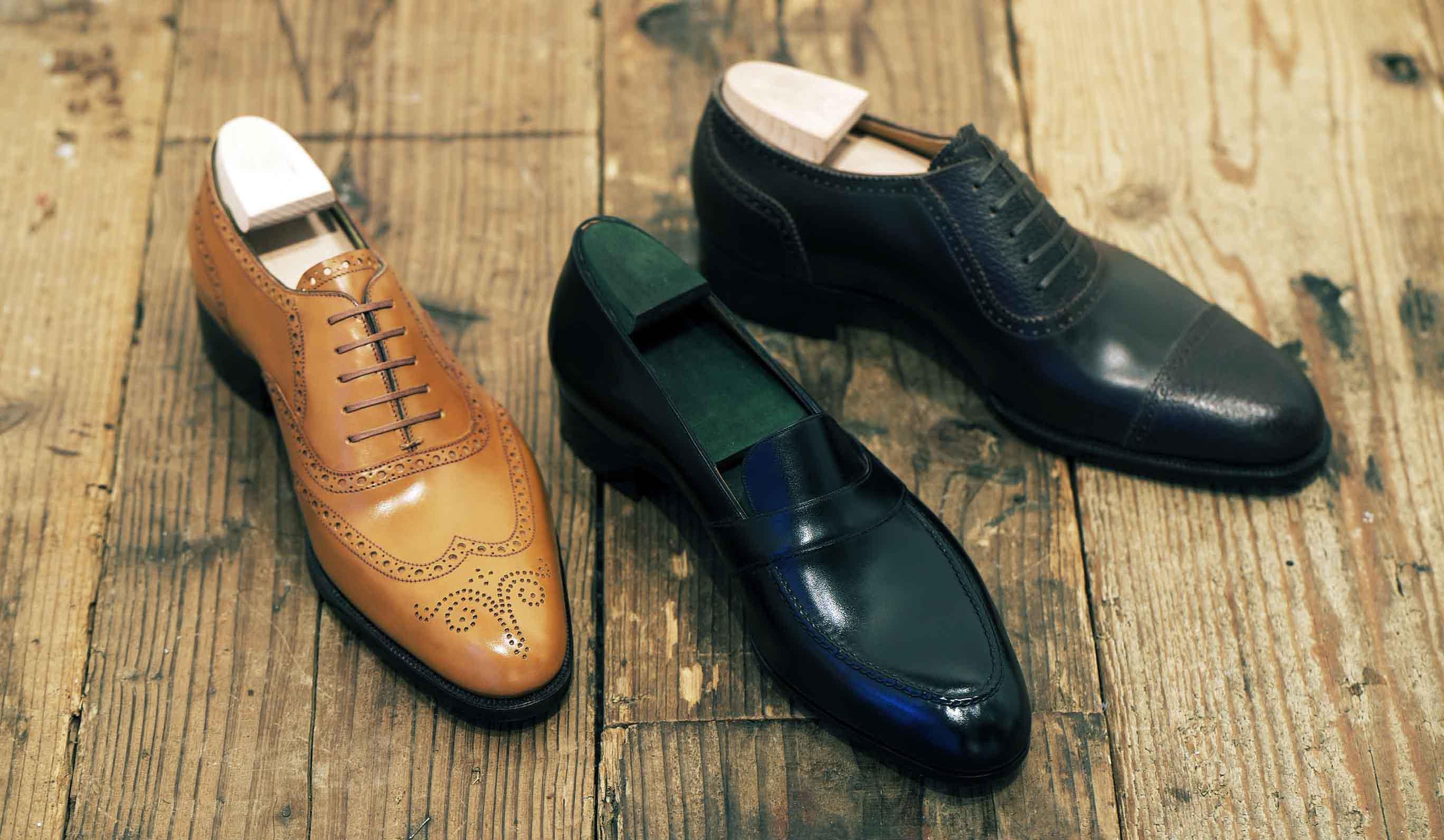 吉本晴一氏が作った、ビスポーク靴