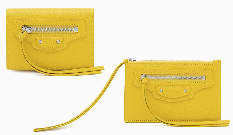 バレンシアガ「ネオ クラシック」の日本限定カラーの財布