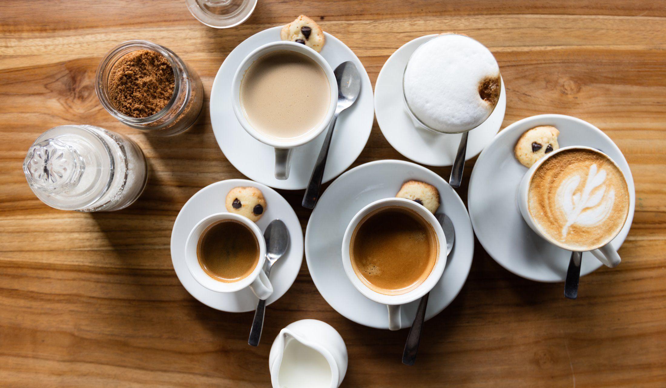 さまざまなコーヒー