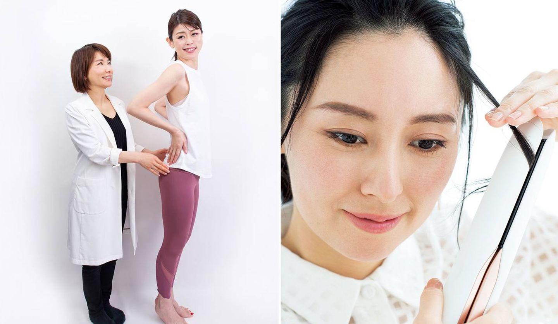エイジングデザイナー 村木宏衣さんとモデルさん、カットモデルさん