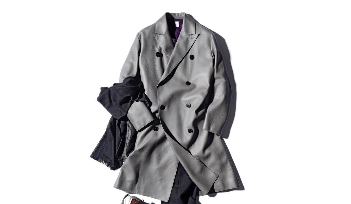 ベルルッティのディアスキンのコート