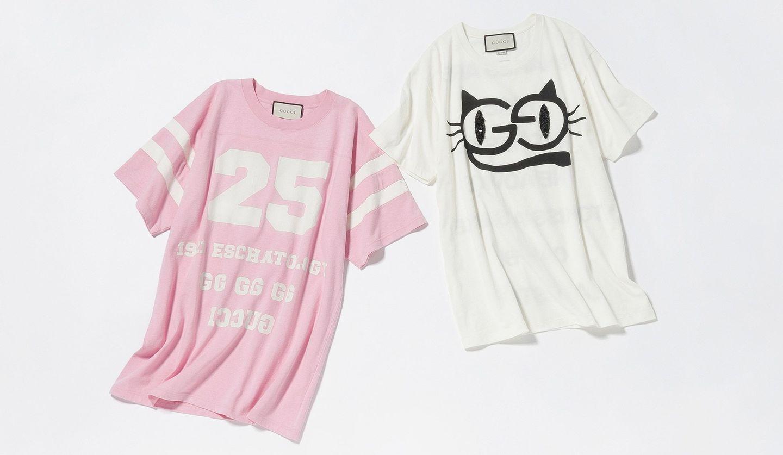 グッチの新作Tシャツ2点