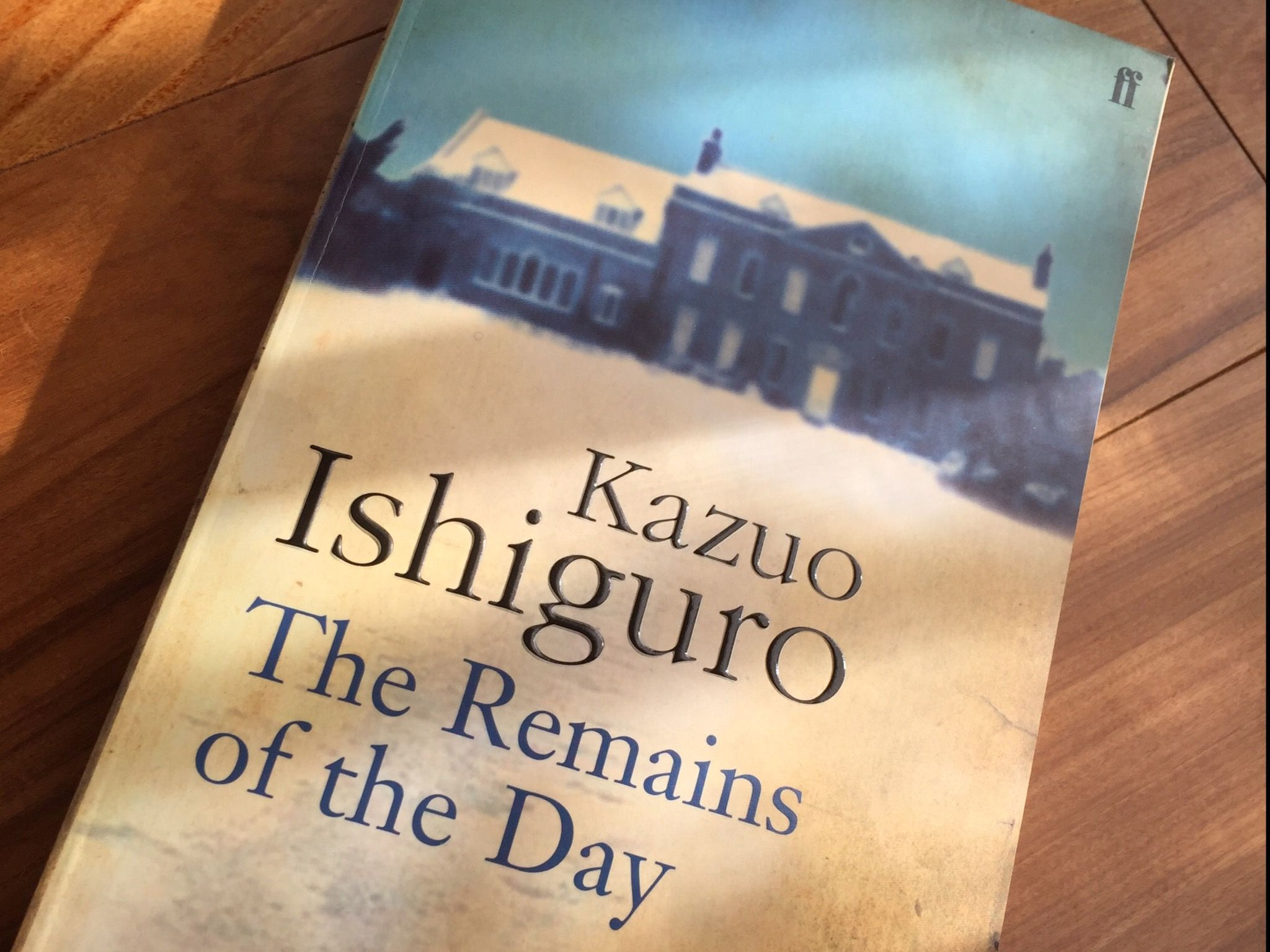 Kazuo Ishiguro The Remains of the Day表紙