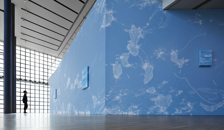 メゾンエルメス フォーラムの「コズミック・ガーデン」展