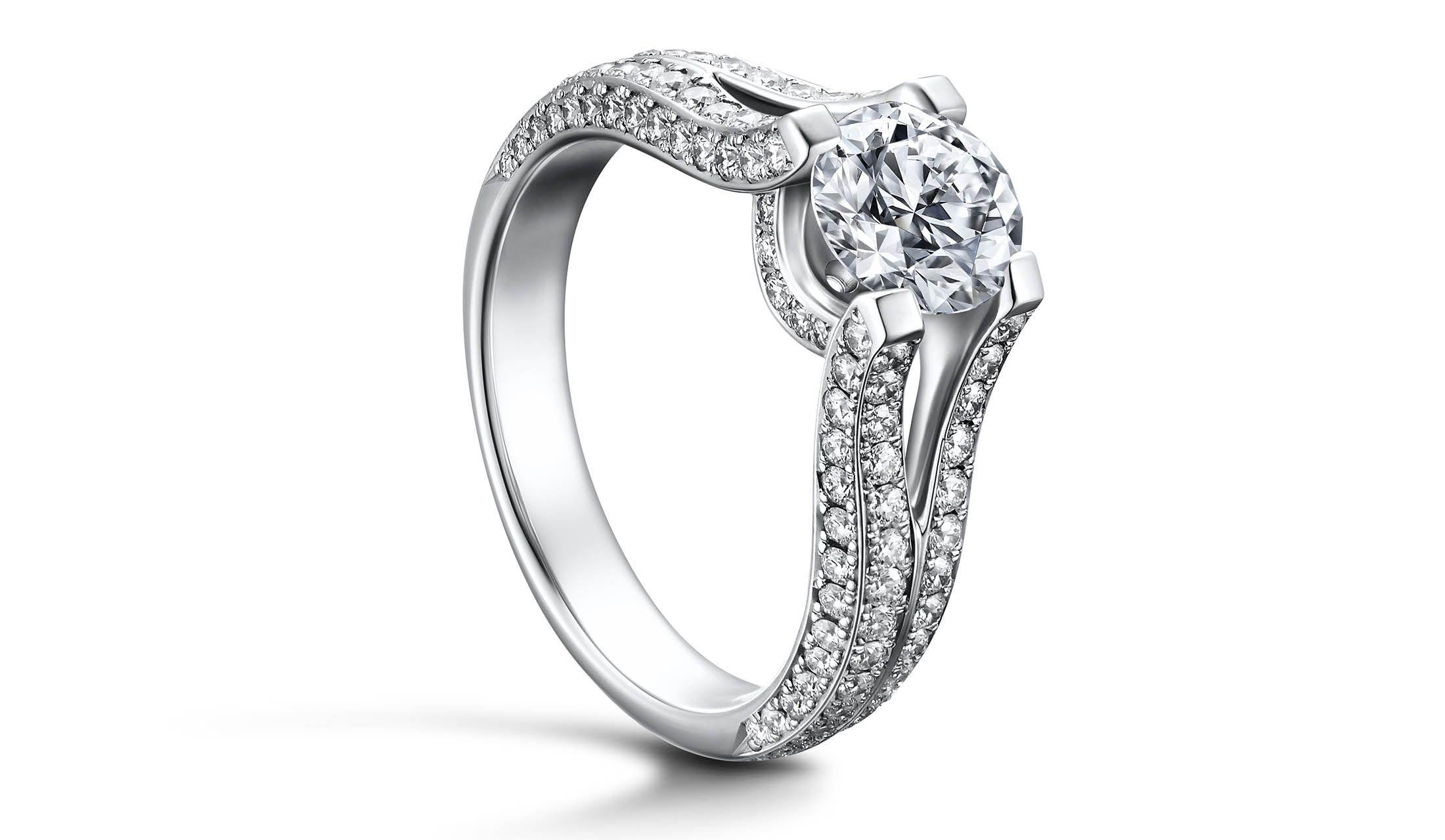 「ラザール ダイヤモンド ブティック」のリング「CELESTIAL」