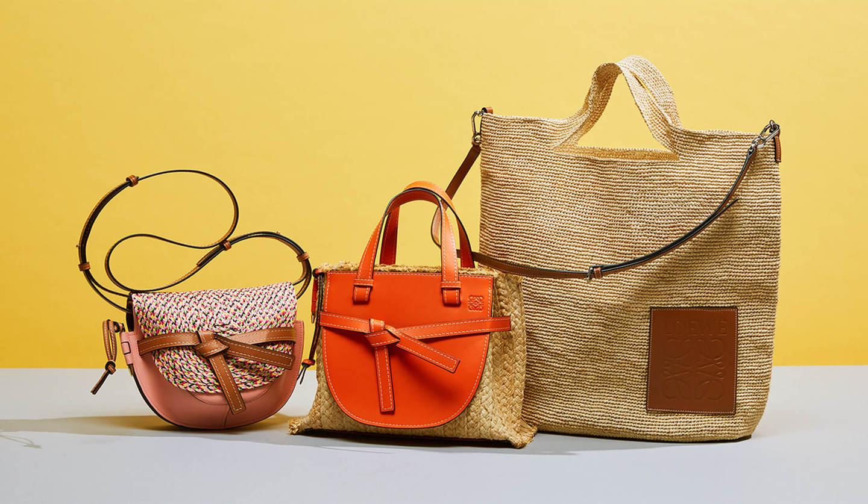LOEWE(ロエベ)の新作のかごバッグ「ゲート」「ゲート・トップハンドル」「スリットバッグ」の写真