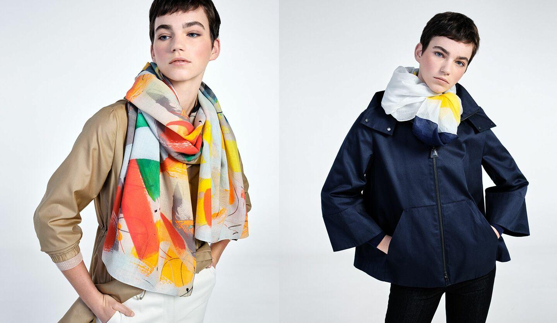 アクリスの新作スカーフコレクション