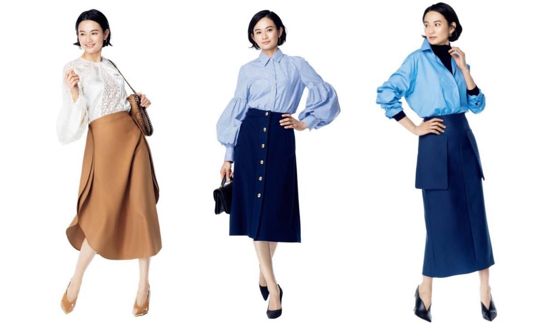 スカート、パンツ、ブランド別、ママスタイルも!30・40代の大人のきれいめコーデ集