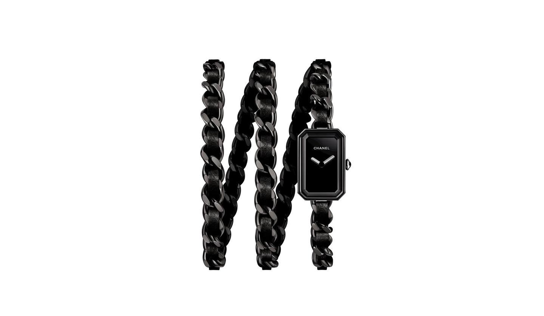 シャネルの時計「プルミエール ロック インテンス ブラック」