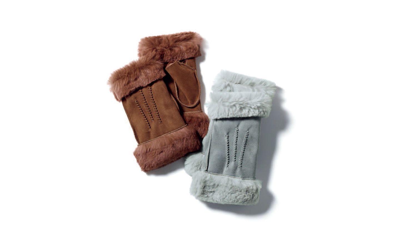 ジョルジュ・モランのムートン手袋