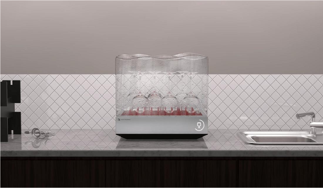食洗機に革命を起こす スマート家電「Tetra(テトラ)」