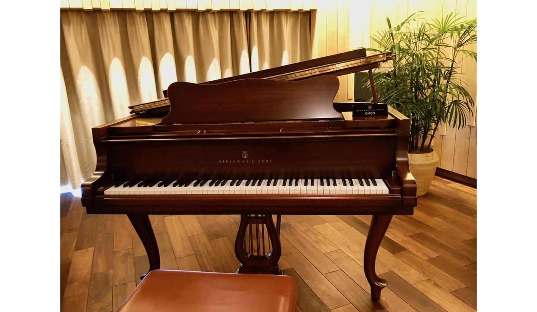 「スタインウェイ&サンズ東京」のスタンウェイのピアノ