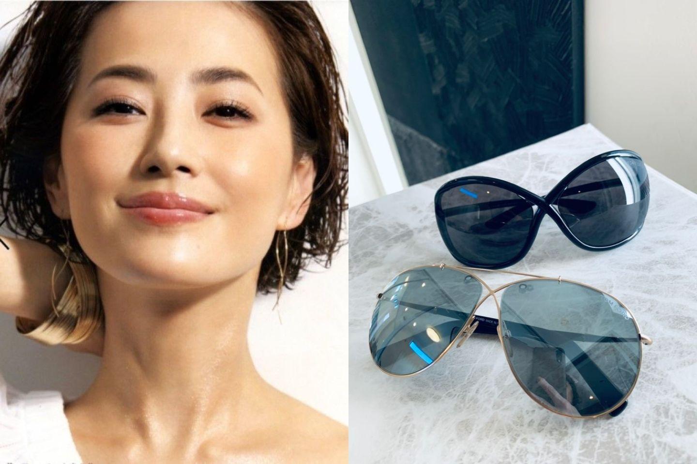 真樹麗子さんのサングラス