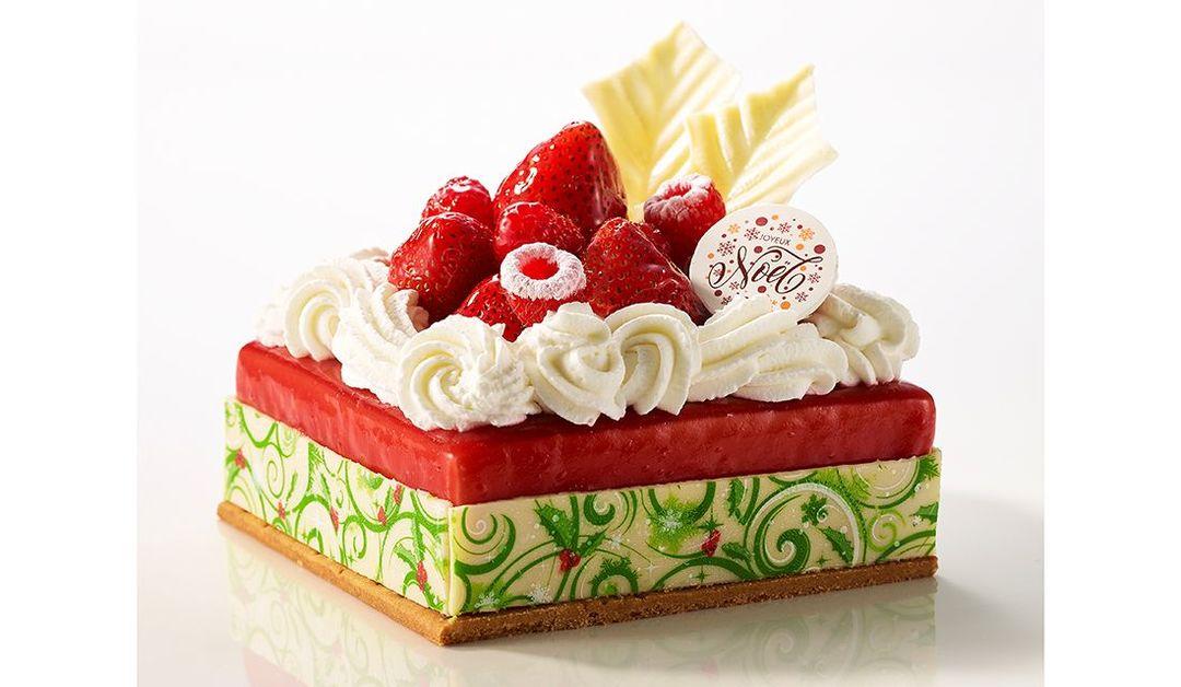 品川プリンスホテルの2019年クリスマスケーキ「ルージュフロマージュ」