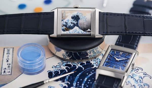 北斎の絵「富嶽三十六景」が時計に!ジャガー・ルクルトの匠の技がすごい