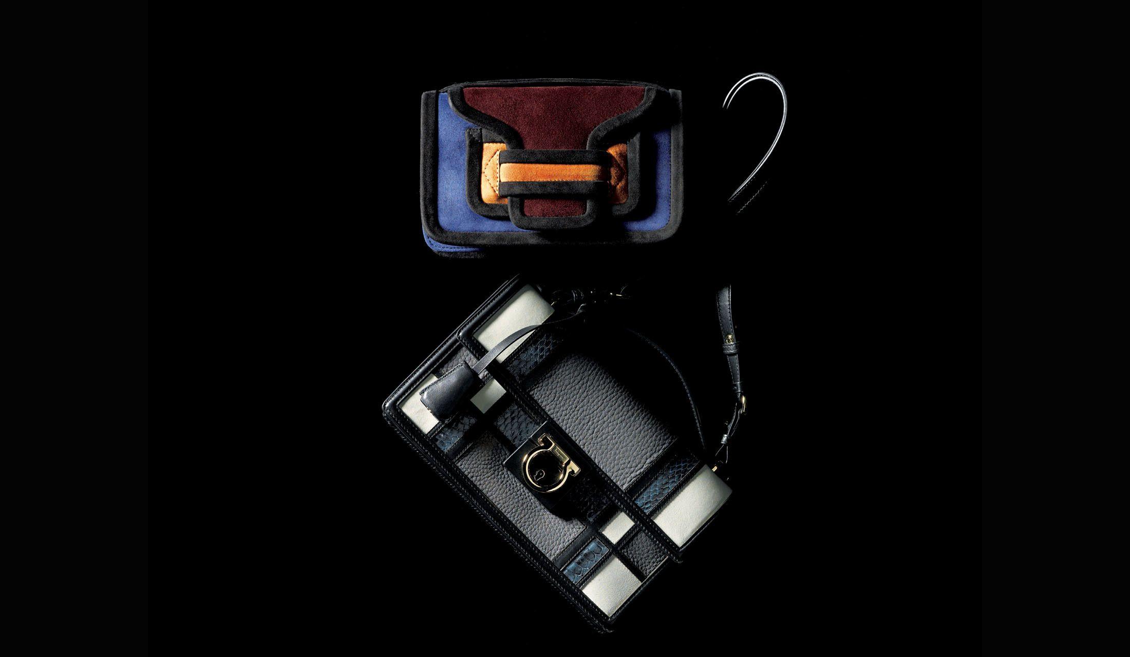 ピエールアルディの『アルファ クロス ボディ』、サルヴァトーレ フェラガモの配色バッグ