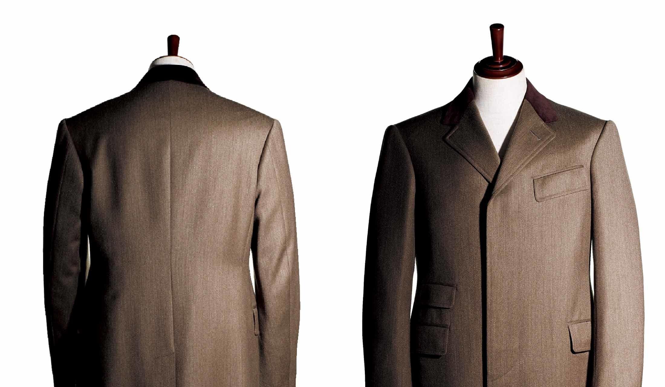 ディトーズで仕立てたカバーコート