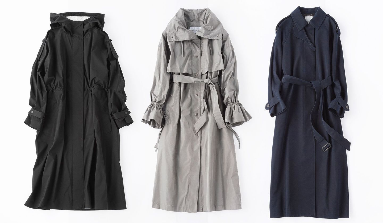マックスマーラ、モンクレール、エブールの軽やかコート