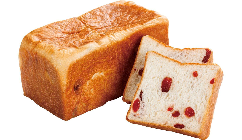 「許してちょんまげ」の食パン「さくらんぼ」