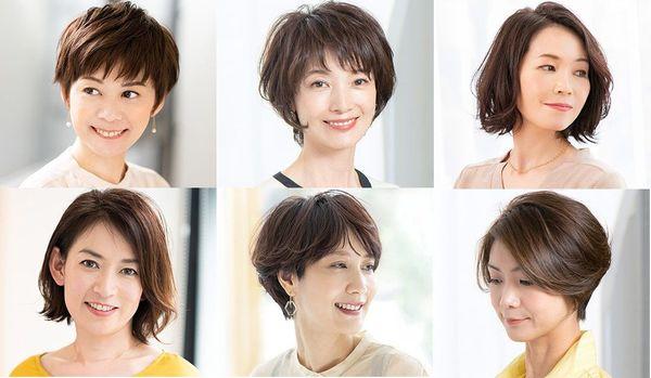 40代に人気の髪型ランキングを発表!【2020上半期ベスト10】小顔を作るショート、輪郭カバーのボブ…1位は?