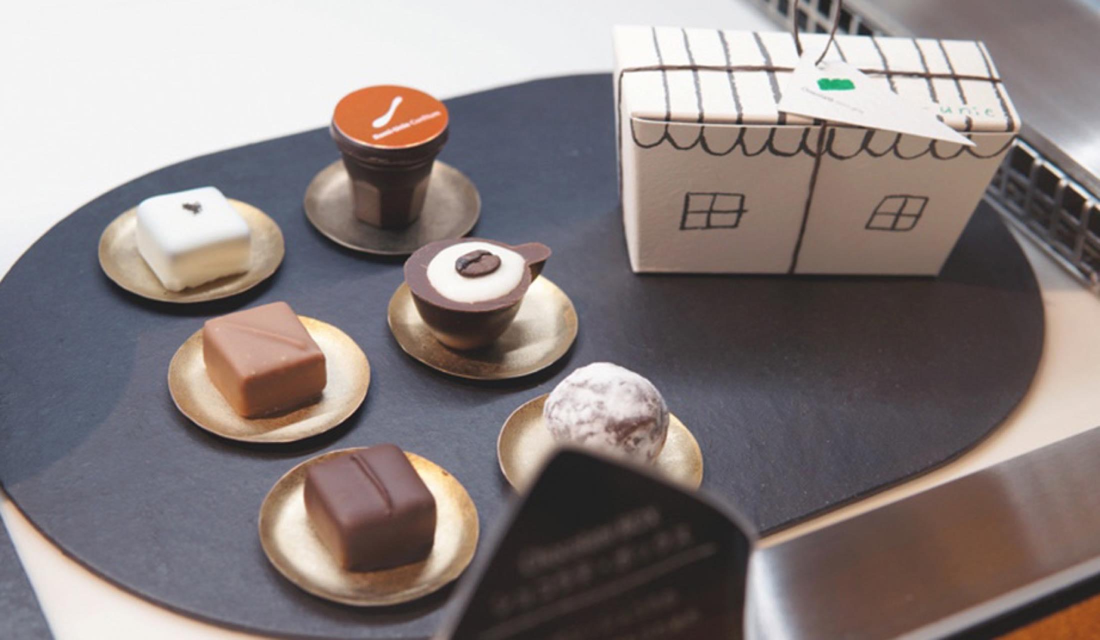 Chocolaté romi-unie(ショコラテ ロミ・ユニ)のチョコレートボンボン
