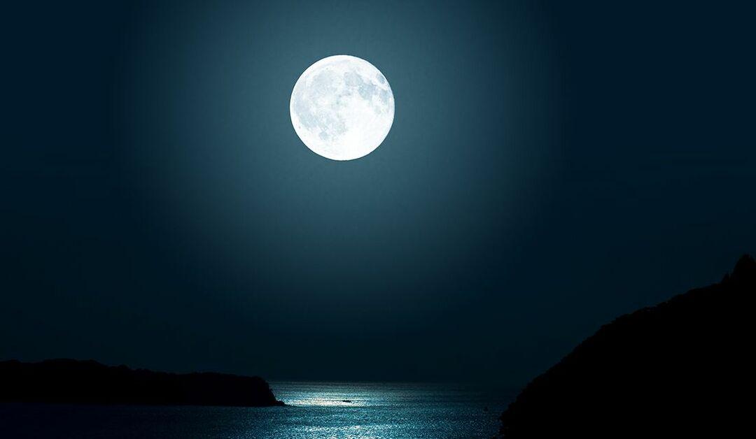 何時 満月 今日 の 月の満ち欠け日程表