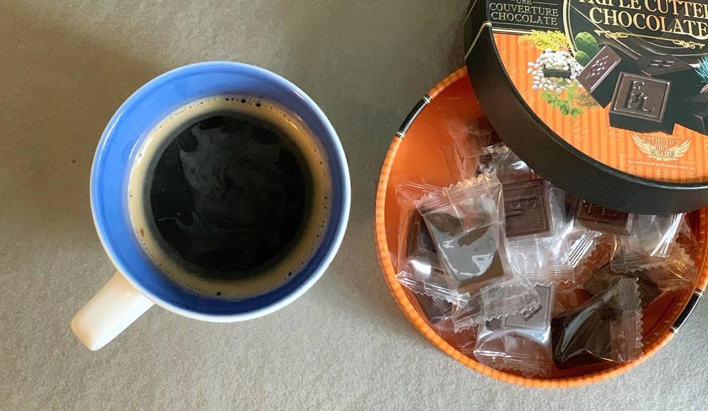 コーヒーとキャンディ
