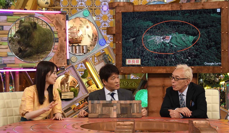 ©ABCテレビ 左から:泉里香さん、林修さん、所ジョージさん