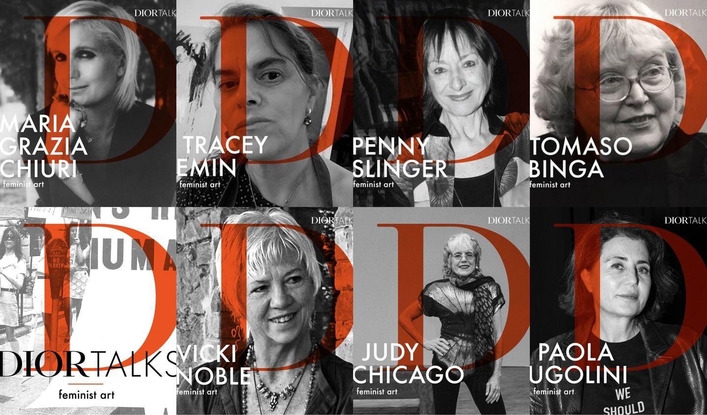 「DIOR TALKS(ディオール トークス)」に登場した7人のアーティスト