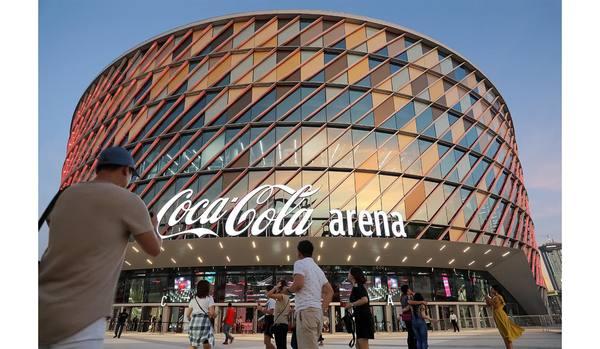 屋内でサッカーの試合鑑賞ができる!ドバイに誕生した最新施設「コカ・コーラ アリーナ」がすごい