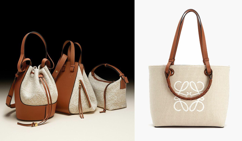 ロエベの新作バッグコレクション、アナグラム ジャガード