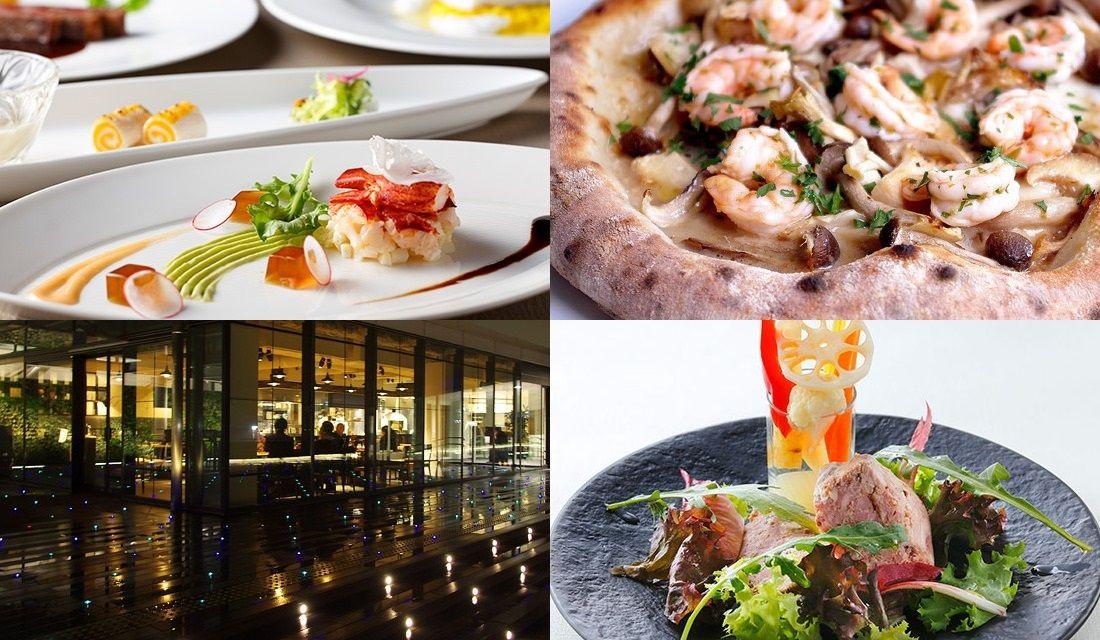 羽田空港のレストランの外観やメニューの写真4枚
