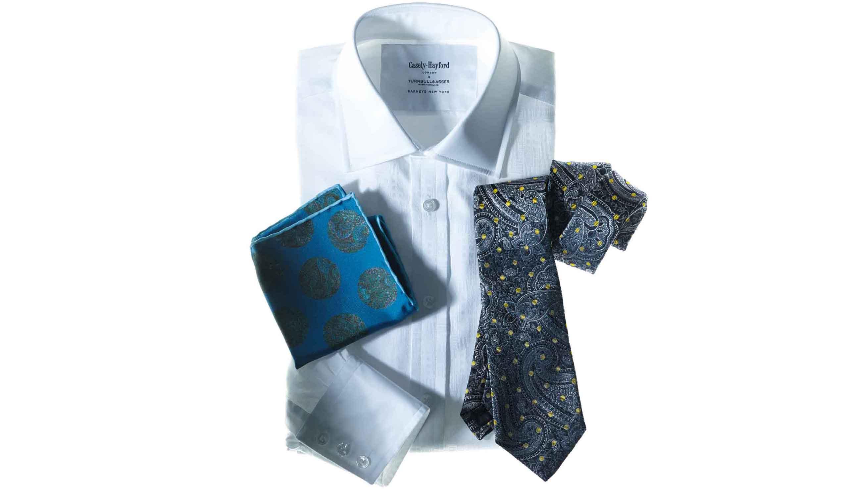 ケイスリヘイフォードとターンブル&アッサーのコラボシャツ
