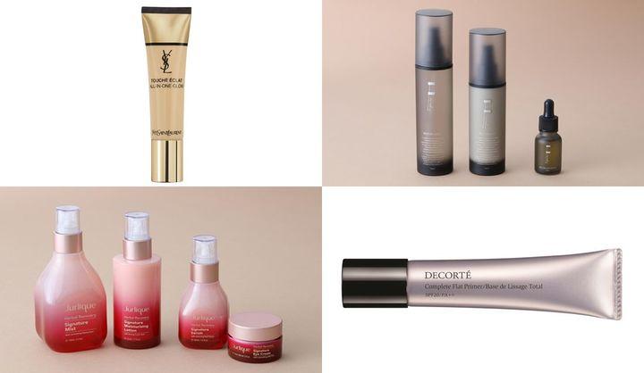 保湿化粧水や下地&ファンデ、乾燥性敏感肌におすすめのスキンケアブランドなど