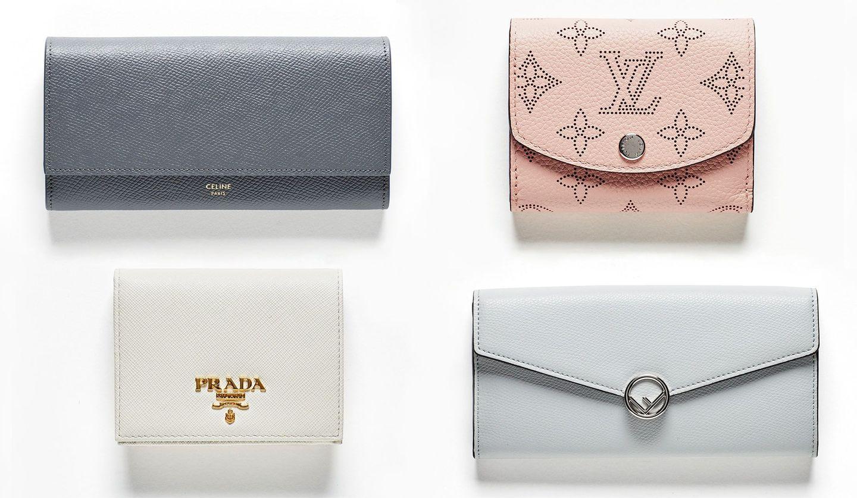2019年春夏のCELINE(セリーヌ)、LOUIS VUITTON(ルイ・ヴィトン)、PRADA(プラダ)、FENDI(フェンディ)の新作財布
