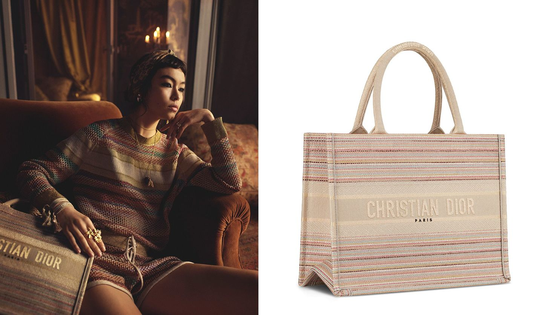 ディオールの新作バッグ「ディオールオール ブックトート」