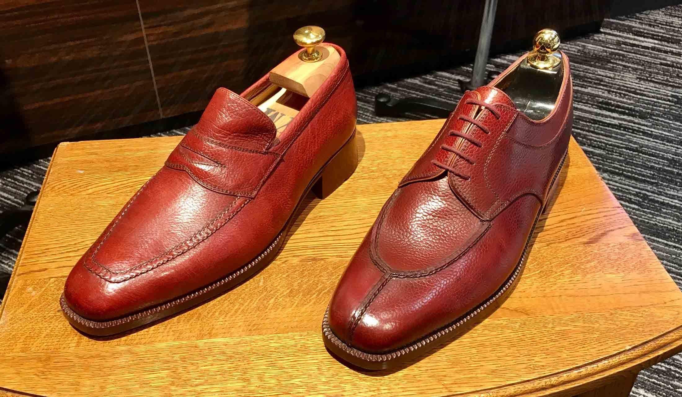 イタリアの注文靴 マリーニのローファー