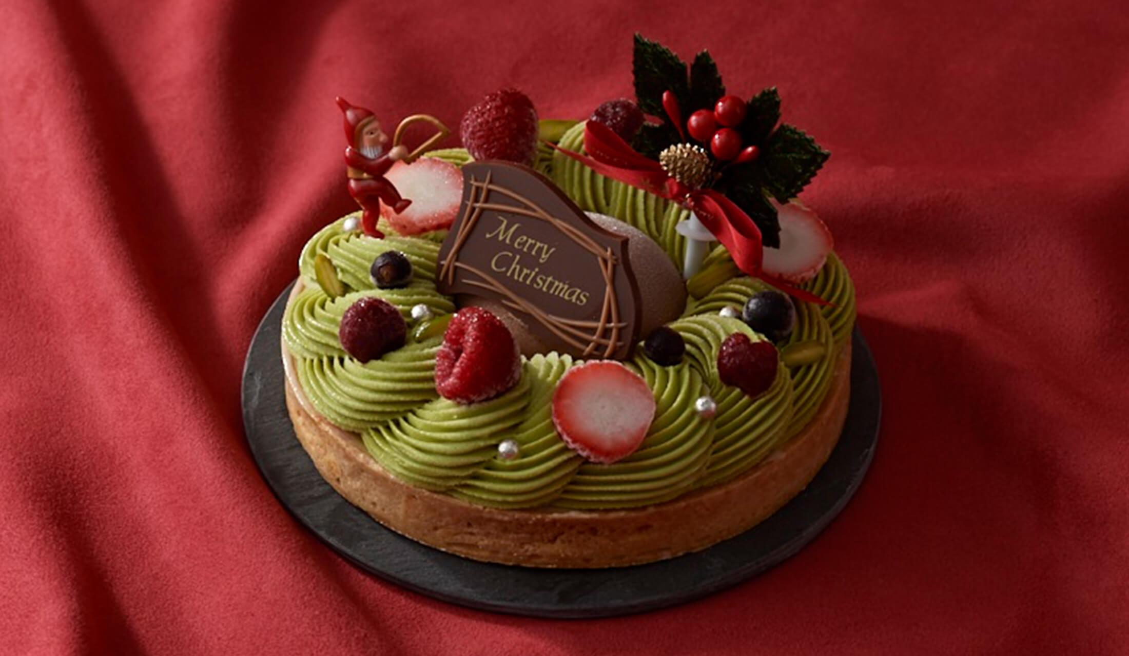 クリスマスアイスケーキ