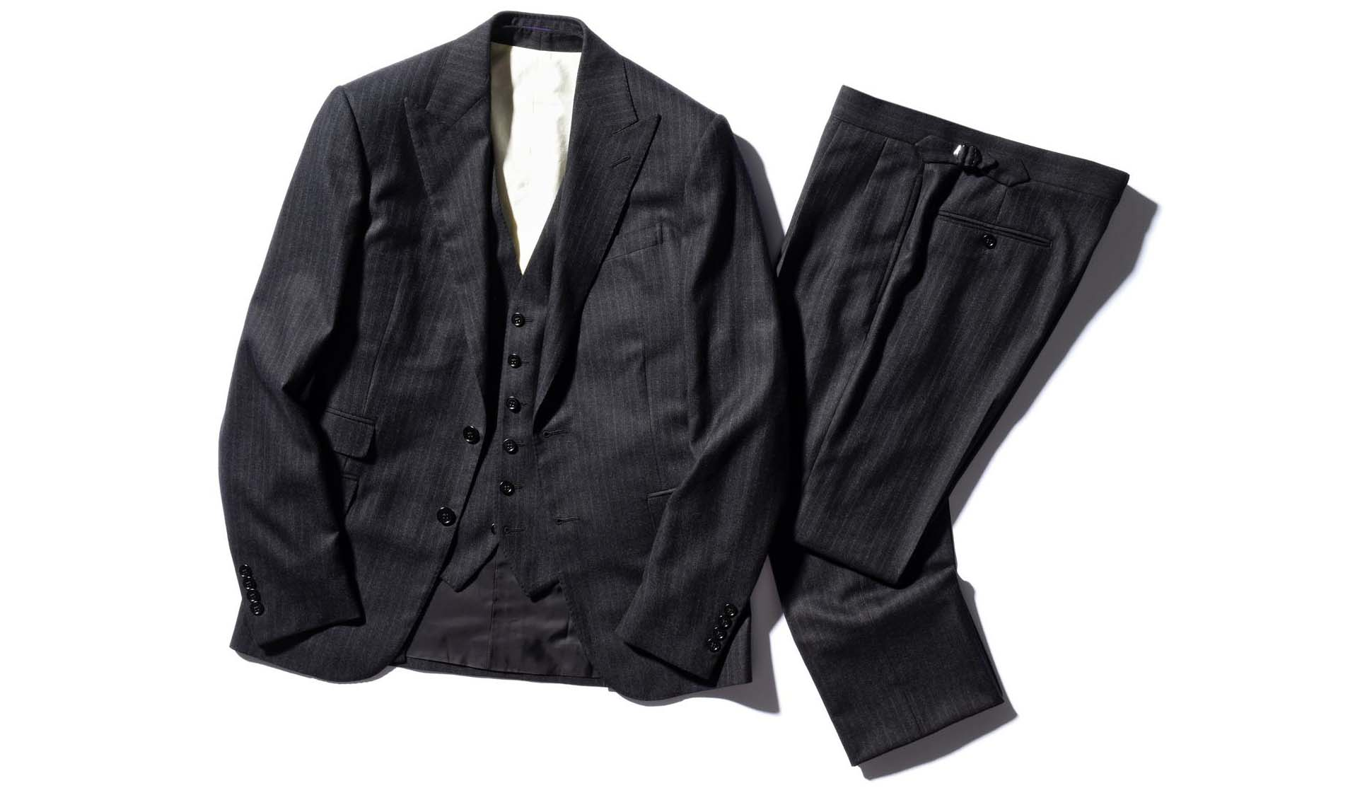 ラルフ ローレン パープル レーベルのスーツ